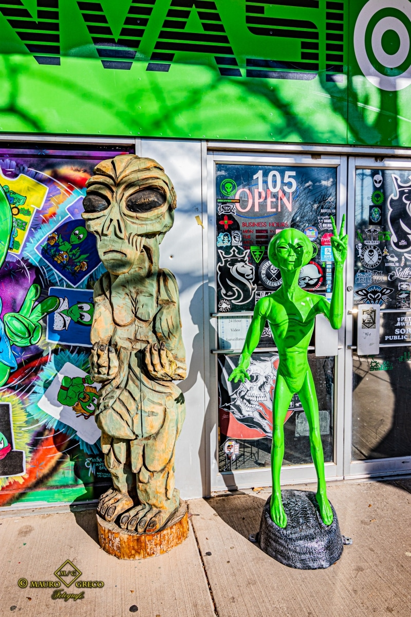 Roswell New Mexico UFO viaggi fotografici e vacanze Mauro Greco fotografo