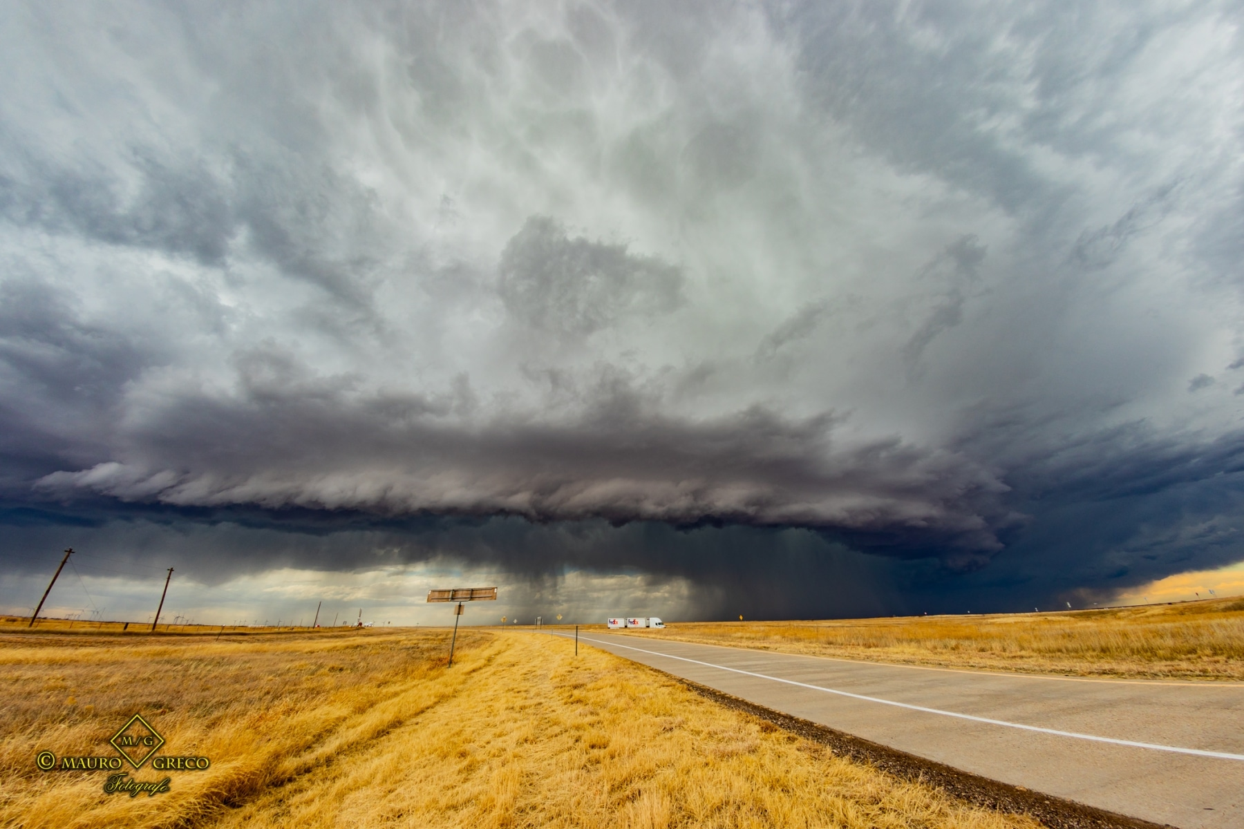 February 23 2020 Groom Texas Supercell - Tornado Tour StormWind